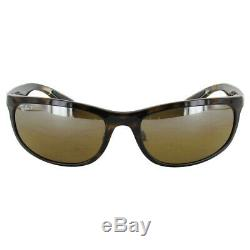 $210 Ray Ban Mens RB4265 Chromance Polarized Sunglasses, Tortoise/Brown Mirror
