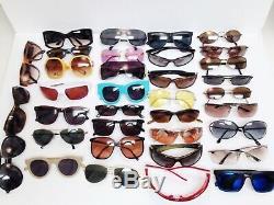 33 Sunglasses Lot, Ray Bans, Oakleys, Smith, Gucci, Maui Jim, Serengeti, Native