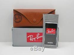AUTHENTIC Ray Ban New Wayfarer 2132 622 Matte Black Rubber Buyer Picks Size