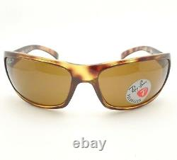 AUTHENTIC Ray Ban RB 4075 642/57 Havana Brown Polarized New