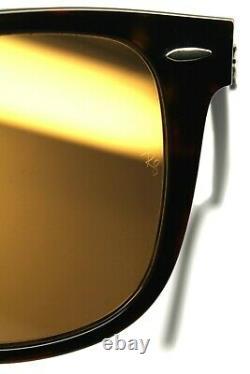 Authentc Ray-Ban Wayfarer Tortoise Havana / Brown Polarized RB 2140 902/57 50mm