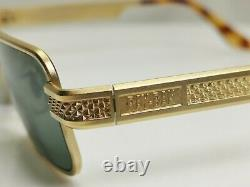 Authentic Ray-Ban Bausch Lomb Vintage Square Sunglasses Undercurrent Gold W2827