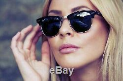 Authentic Ray Ban Classic-ORB3016/901/58-51mm CLUBMASTER-Polarized-For Men-Women