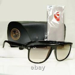 Authentic Ray-Ban Mens Sunglasses Black Grey RB 4147 601/32 Crystal Glass Lenses