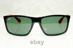 Authentic Ray-Ban Mens Sunglasses Scuderia Ferrari Collection RB 4228M F601/71