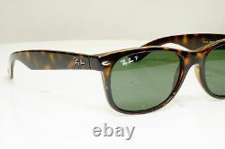 Authentic Ray-Ban Polarized Sunglasses New Wayfarer 55mm RB 2132 902/58 31168