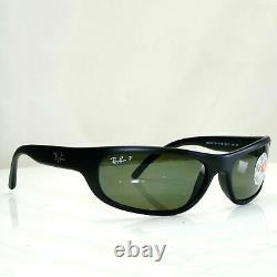 Authentic Ray-Ban Predator Vintage Black Polarized Sunglasses RB 4033 601S/48