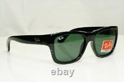 Authentic Ray-Ban Sunglasses Mens Womens Glossy Black Square RB 4194 601 Vintage