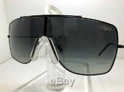 Authentic Ray Ban Wings II Sunglasses Rb 3697 00211 Black/gray Gradient Lens