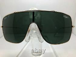 Authentic Ray Ban Wings II Sunglasses Rb 3697 905071 Gold/dark Green Lens