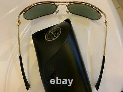 B&L RAY-BAN OLYMPIAN I DELUXE 6217 G-15 Arista DLX Bausch & Lomb Vintage USA 1