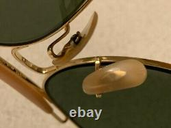 B&L RAY-BAN OUTDOORSMAN II 6214 G-15 Arista Aviator Bausch&Lomb Vintage USA 2