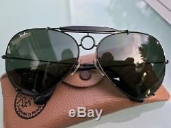 B&L RAY-BAN SHARPSHOOTER IV 6514 Black Chrome G-15 Shooter Bausch & Lomb USA 4