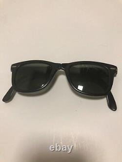B&L Ray Ban Wayfarer Vintage Folding Sunglasses Bausch & Lomb with Original Case