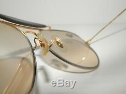 B&l Ray-ban Precious Metalsvintage Aviator Sunglassesn. U. Old Stocktrendy