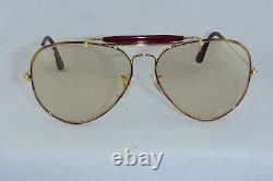 Like New! Vintage Ray Ban USA B&L Outdoorsman Tortuga 62 14 changeable lenses
