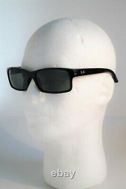 Made in Italy Ray-Ban RB4151 601 Black Frame Dark Grey Lens Men's Sunglasses