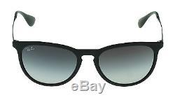 NEW Genuine Ray-Ban ERIKA Matte Black Round Men Women Sunglasses RB 4171 622/8G