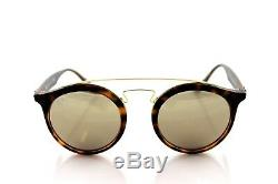 NEW RAY-BAN GATSBY I Tortoise Gold Mirror Round Sunglasses RB 4256 6092/5A 49MM