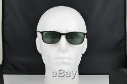 NEW RAY-BAN LIGHT RAY WAYFARER Black Classic Green Sunglasses RB 4225 601S71