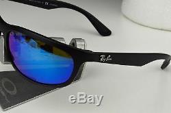 NEW RAY-BAN RB 4265 601-S/A1 Black Blue FLash Polarized CHROMANCE Sunglasses