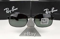 NEW RAY BAN TECH RB 8316 002 Carbon Fiber/Gunmetal G15 Green lens Sunglasses