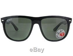 NEW Ray-Ban Black Frame / Green Polarized Lenses RB 4147-601/58-56