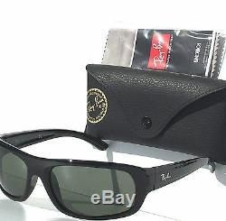 NEW Ray Ban RB 4166 POLARIZED Grey Lens in BLACK 63mm frame Sunglass RB4166