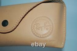NEW Ray-Ban RB 8034 K Caravan ULTRA Titanium 18k Gold Limited Edition 55 mm LAST