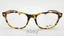 NEW RayBan RX Frame RX5359 5712 53 Light Tortoise AUTHENTIC Wayfarer 5359