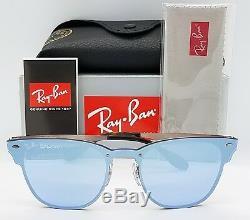 NEW Rayban Blaze Clubmaster sunglasses RB3576N 90391U 41mm Copper Blue Mirror RB