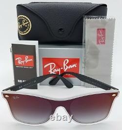 NEW Rayban Blaze Wayfarer sunglasses RB4440N 6355/UO 41mm Red Mirror Gradient