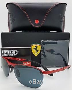 NEW Rayban Ferrari sunglasses RB4302M F62387 Red Scuderia 4302 Limited AUTHENTIC