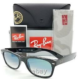 NEW Rayban New Wayfarer Sunglasses RB2132 901/3A 52mm Green Gradient AUTHENTIC