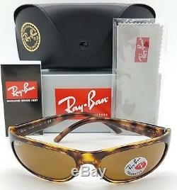 NEW Rayban Predator RB4033 642/47 sunglasses Tort Brown Polarized 4033 AUTHENTIC