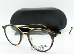NEW Rayban Prescription Frame Tortoise RX7097 2012 47mm 7097 AUTHENTIC round