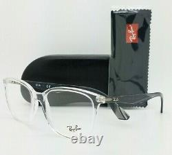 NEW Rayban Prescription Frame Transparent Clear RX7066 5768 54mm 7066 AUTHENTIC