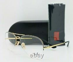 NEW Rayban Rx Eyeglasses Frame RX6589 2946 56mm Gold AUTHENTIC 6589 Aviator
