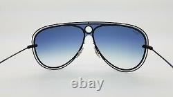 NEW Rayban Sunglasses RB3605N 186/X0 Black Blue Gradient AUTHENTIC ruby red 3605