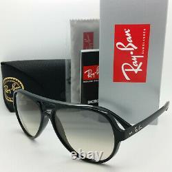 NEW Rayban Sunglasses RB4125 601/32 59mm Black Light Grey Gradient AUTHENTIC NIB