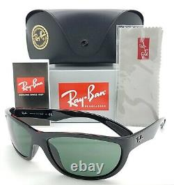 NEW Rayban Sunglasses RB4188 601/71 63mm Black G15 Grey Green AUTHENTIC RB 4188