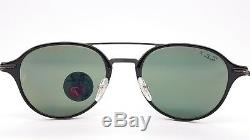 NEW Rayban Sunglasses RB4287 601/9A 55 Black Grey Polarized Round 4287 Light Ray