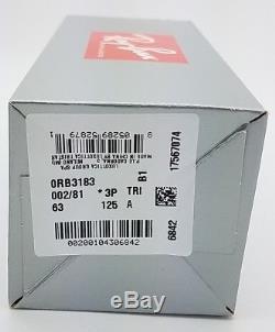 NEW Rayban sunglasses RB3183 002/81 63 Black Grey Polarized Top Bar GENUINE 3183