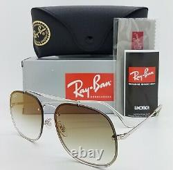 NEW Rayban sunglasses RB3583N 003/W0 58mm Silver Green Gradient Mirror AUTHENTIC
