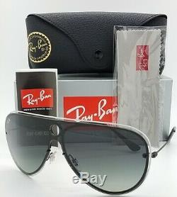 NEW Rayban sunglasses RB3605N 909511 Shield White Black Gradient AUTHENTIC 3605