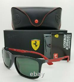 NEW Rayban sunglasses RB4228M F60171 58mm Ferrari Black Classic Grey AUTHENTIC