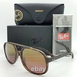 NEW Rayban sunglasses RB4312CH 894/6B 57mm Havana / Chromance Brown Polarized