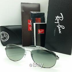 NEW Rayban sunglasses RB8301 130/71 59 Carbon Tech Pilot Gradient AUTHENTIC 8301