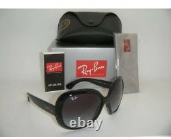 New Authenc Ray-Ban Jackie OHH II RB 4098 601/8G 60mm Black / Gray Gradient