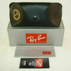 New Authentic Ray-Ban Men's Sunglasses Gunmetal withGreen Lens RB3211 004/71